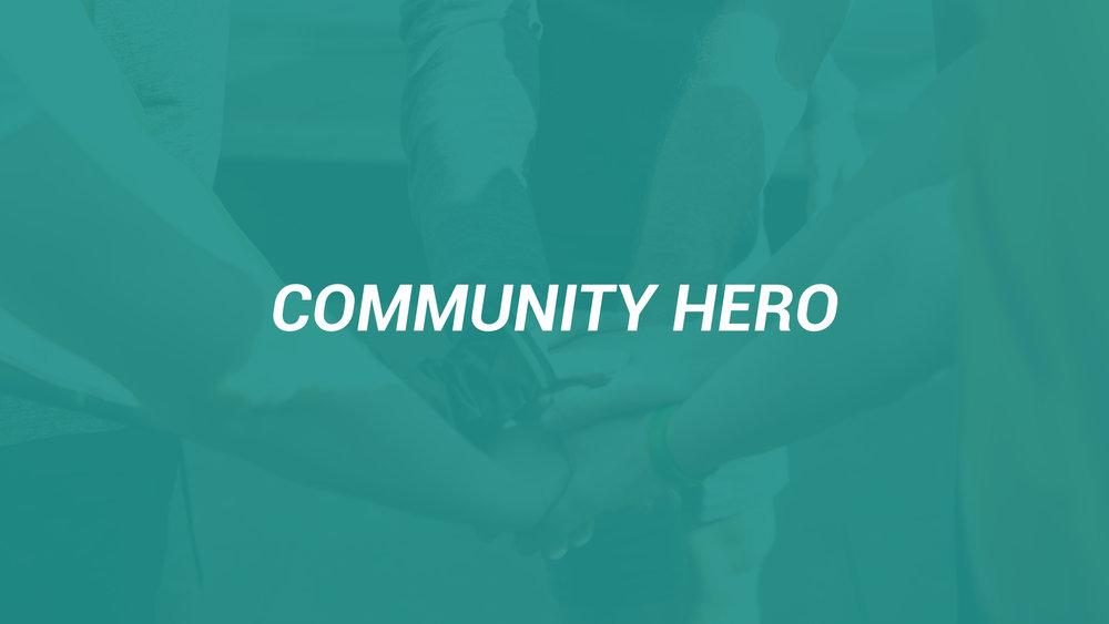 Community-hero