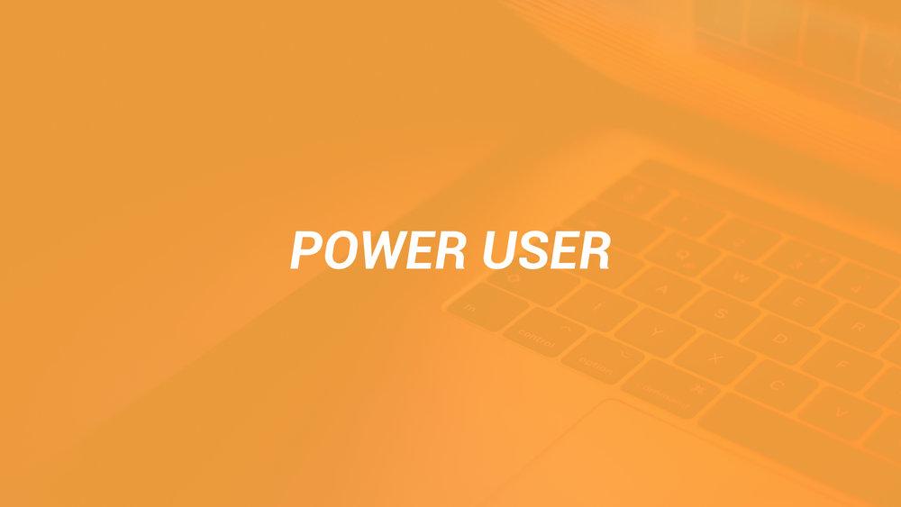 power-user